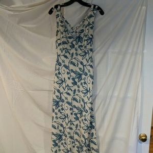 Cocktail Dress with Cross strap back